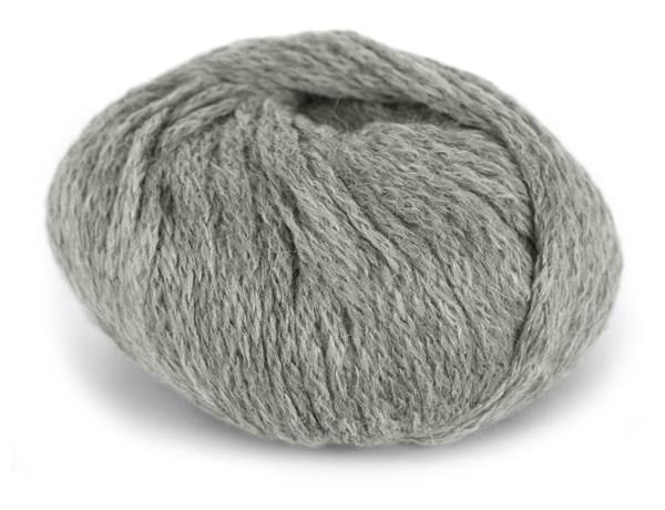 Du Store Alpakka Hexa Lanka Alpakkavilla 50 g vaalea harmaa 916