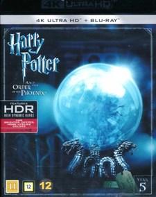 Harry Potter 5: Fenixordern - 4K Ultra HD Blu-ray