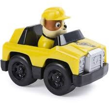 Paw Patrol, Valp med fordon, Rubble's Roadster