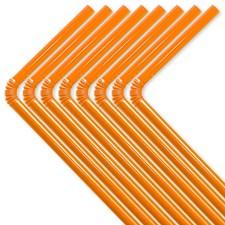 Sugerør Oransje 50-pakning