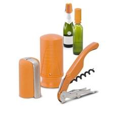 Pulltex Viini- & Samppanjasetti 3 osaa Oranssi