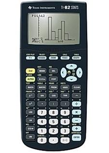 Räknare Teknisk Texas TI-82 Stats Graf