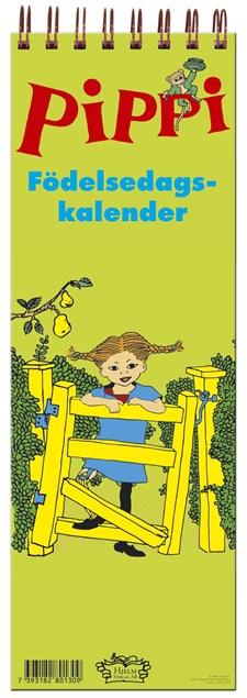 Pippis Födelsedagskalender 36x12 cm