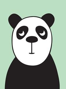 Panda Poster 30x40 cm