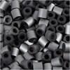Rörpärlor,  medium , stl. 5x5 mm, silver (32262), 6000st., hålstl. 2,5 mm
