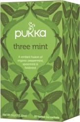 Pukka Te Three Mint Tepåsar 20 st Ekologisk