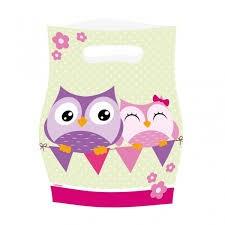 Happy Owl, Godteposer, 8 stk.