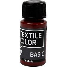Textile Color Basic, 50 ml, ruskea