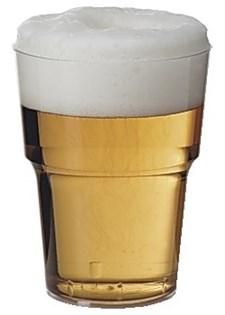 Plastglas Hårda 50 cl 25 st