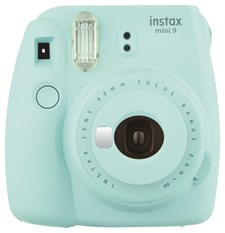 Kamera + 10pk film! Instax Mini 9 Ice Blue