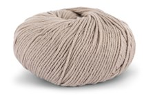 Knit At Home Classic Cotton Merino Garn Ullmix 50 g Ljusbeige Melange 807