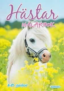 Hästar målarbok