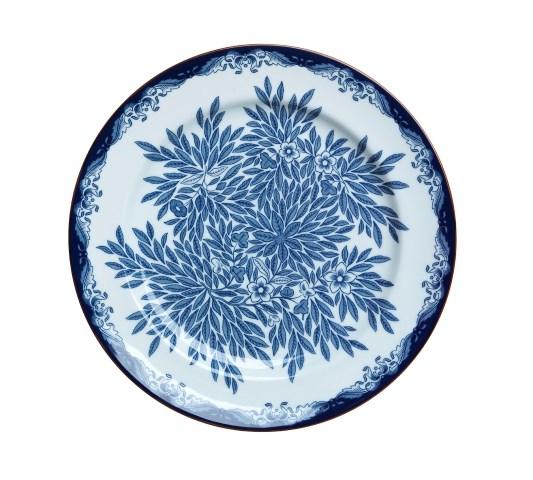 Rörstrand Ostindia Floris Tallrik Flat 27 cm Blå - tallrikar & skålar