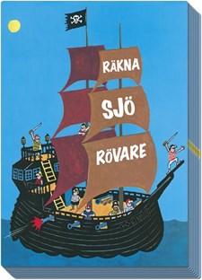 Räkna sjörövare kortspel (SE)
