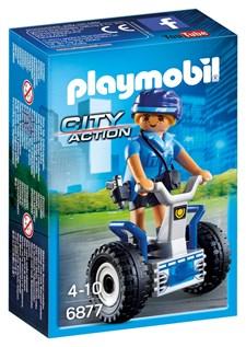 Kvinnlig polis med balansracercykel, Playmobil City Action (6877)