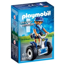Politikvinne med ståhjuling, Playmobil City Action (6877)