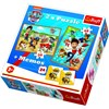 """Paw Patrol """"To the Rescue"""", Puslespill 2-i-1 + Memory, Trefl"""