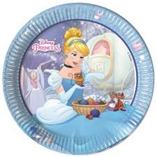 Disney Princess Askungen Papptallrikar, 8 st