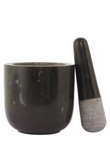 Morter, Ø 12 cm, Marmor, Svart, Nicolas Vahé