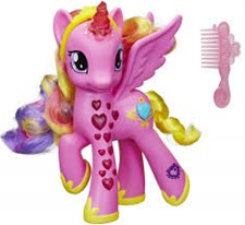 Cutie mark, Magic glowing hearts, My Little Pony