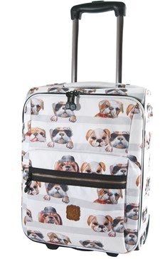 Trillekoffert Dogs, Grå, Pick & Pack