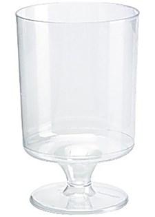 Plastglas Vin 17 cl Treansparent 12 st