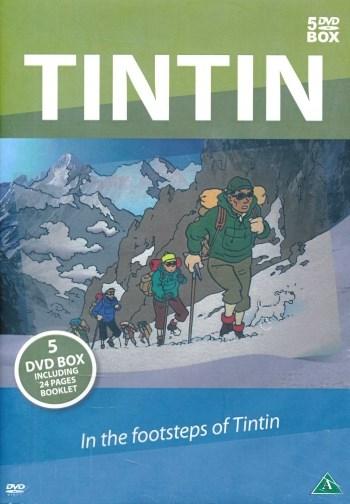 Tintin - En resa i Tintins fotspår (5-disc)  Soul Media