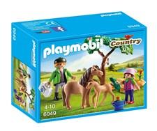 Veterinær med ponni og føll, Playmobil Country (6949)