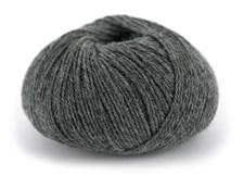 Du store Alpakka Wool Garn Ullmix 50 g Mørk Gråmelert 503