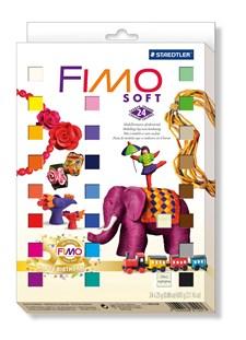 FIMO Soft juhlapakkaus 24 kpl 25 g palaa