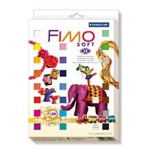 FIMO Soft-Leire, Jubileumspakke med 24 stk. 25 gr. blokk