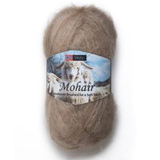 Viking of Norway Mohair 50 gr beige