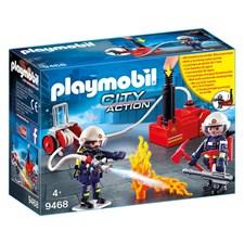 Brandmän med vattenpump, Playmobil Action (9468)