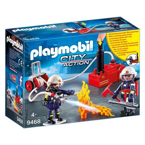 Brandmän med vattenpump  Playmobil Action (9468) - playmobil