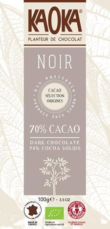 KAOKA Choklad Mörk 70% 100 g