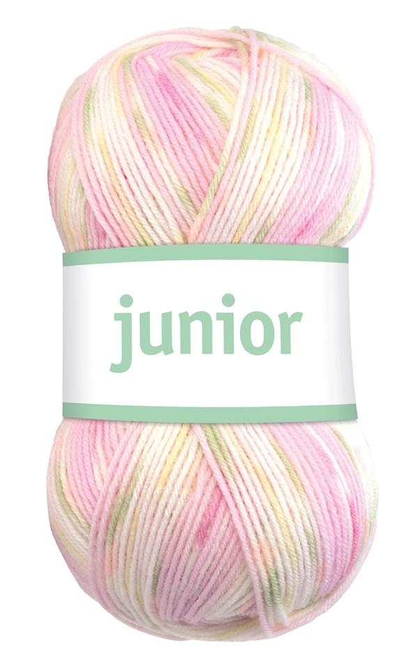 Junior 50g Akrylmix Sockervadd Print (67033)