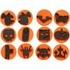 Softisleimasimet, halloween, halk. 7,5 cm, paksuus 2,5 cm, 12 kpl/ 1 pkk