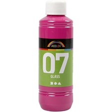 A-Color Glass, 250 ml, pink