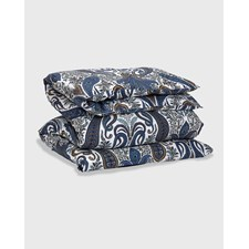 GANT Home Key West Paisley Pussilakana 100% Puuvilla 150 x 210 cm Sateen Blue
