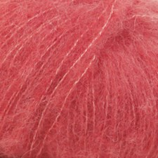 Drops Brushed Alpaca Silk Uni Colour Garn 25 g korall 06