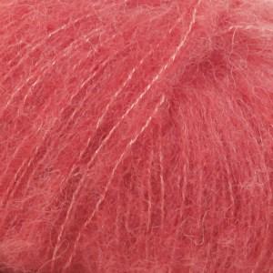 Drops Brushed Alpaca Silk Uni Colour Garn 25 g korall 06