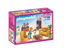 Vardagsrum med öppen spis, Playmobil (5308)