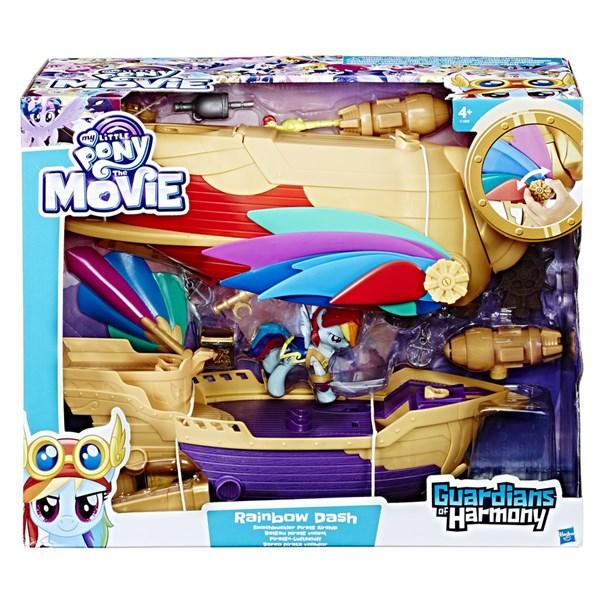 My Little Pony Swashbuckler Pirate Airship - figurer & miniatyrer