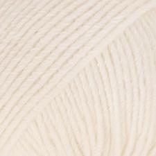 Drops Cotton Merino Uni Colour Garn Ullmix 50g Powder 28