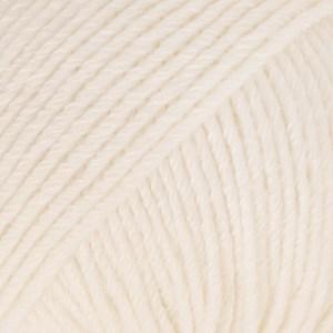 Drops Cotton Merino Uni Colour Lanka Villasekoitus 50g Powder 28