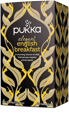 Pukka Te Elegant English Breakfast Tepåsar 20 st Ekologisk