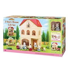 3 Story house, Gift set, Sylvanian Families