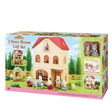 3 Story house, Gift set, Sylvanian Families