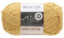 Novita Wool Cotton Garn Ullmix 50 g, saffran 285