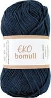 Järbo Eko bomull Garn Eko Bomull 50g Marinblå (63212)